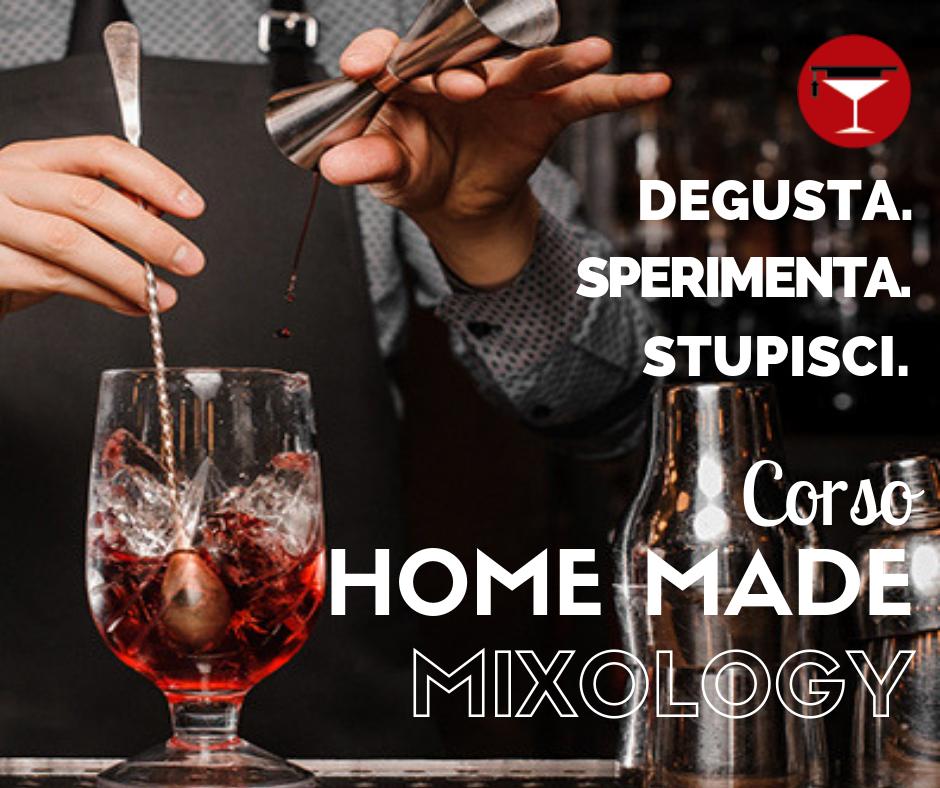 🆕️ Corso Home Made Mixology
